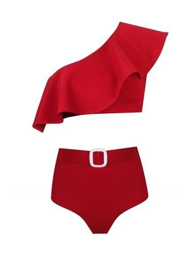Nur Karaata Bikini Kırmızı